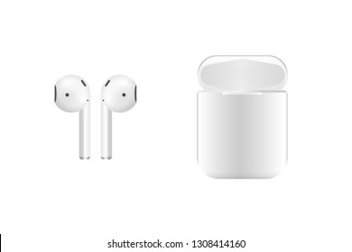 Airpods wireless headphones and case