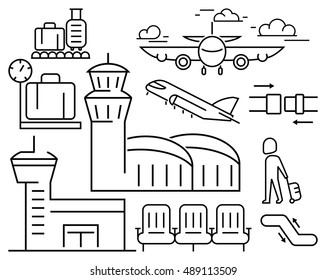 Airport Vector Icon