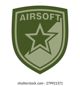 airsoft badge or patch