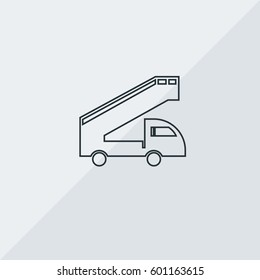 Airstairs Vector Icon