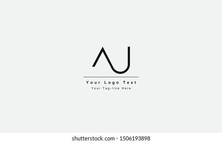 AJ or JA letter logo. Unique attractive creative modern initial AJ JA A J initial based letter icon logo