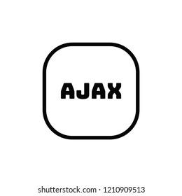 Ajax vector icon