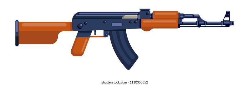 ak47, kalash, gun