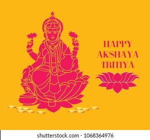 Akshaya Tritiya Festival Greetings design