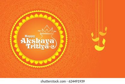 Akshaya Tritiya Template Design