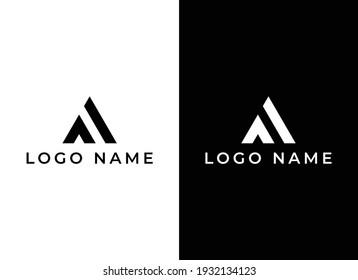 AL logo, Creative AL logo, modern AL fashion design logo
