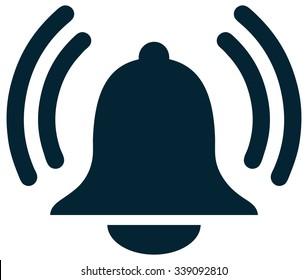 Alarm Bell Sign, Vector Illustration.