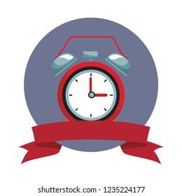 Alarm clock with bells