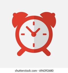 Alarm clock icon.