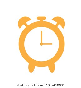 Alarm clock icon isolated on white background. Alarm clock icon for web site,app and logo. Creative concept,vector illustration eps 10