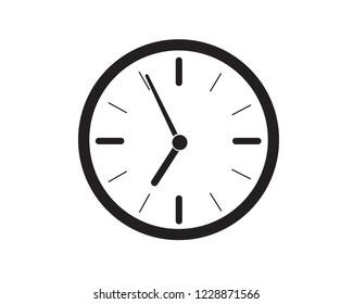 Alarm clock icon, vector.