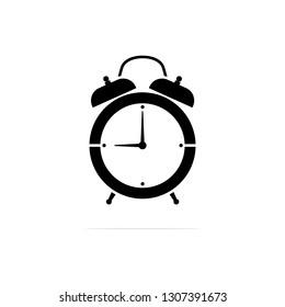 alarm clock icon, vector concept illustration for design.