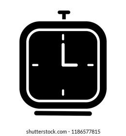 Alarm Clock Icon Vector. EPS 10.