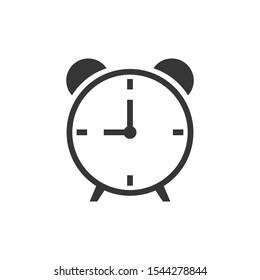 Alarm Clock Icon Vector Illustration