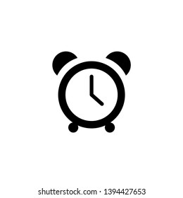 alarm clock ringing icon modern design illustration - Vector