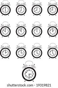 Alarm clock series.