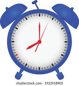 Alarm clock vector art and illustration