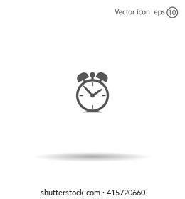 alarm clock-Vector icon