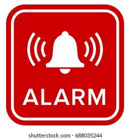Alarm sign / icon