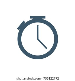 alarm / timer logo template. web icon design element. vector