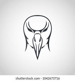 Albatross logo icon design, vector illustration