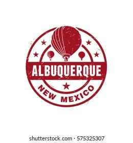 Albuquerque New Mexico Stamp