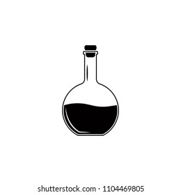 alcoholic beverage in a decanter icon. Element of simple drinks icon for mobile concept and web apps. Detailed alcoholic beverage in a decanter icon can be used for web and mobile