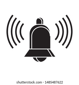 Alert Icon. Warning Vector, Sign and Symbol for Design, Presentation, Website or Apps Elements. bell icon