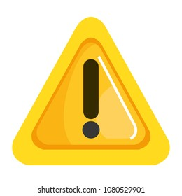 alert sign triangle icon