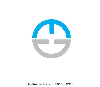 aletter ED icon vector template