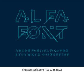 Alfa font set