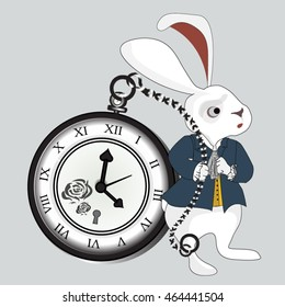 Alice in wonderland rabbit time