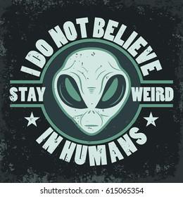 Alien face icon set, humanoid head, futuristic space invader, paranormal fantasy emblem vector illustration
