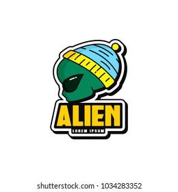 Alien Logo Design
