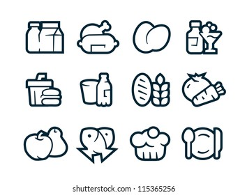 Aliments Icons