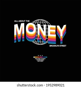 all about the money simple vintage