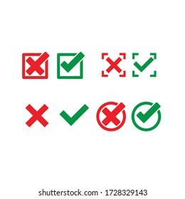All CHECK list vector symbole
