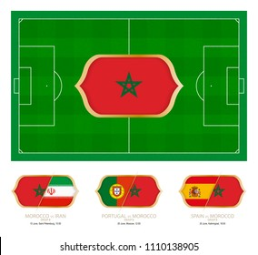 All games by Moroccan soccer team in group B.