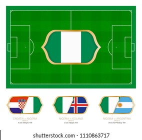 All games by Nigeria soccer team in group D.