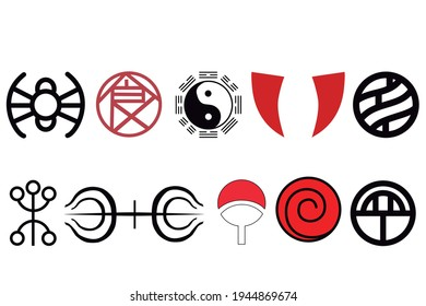 All noble konoha clans in one image