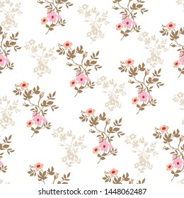 all over flowers bunches pattern