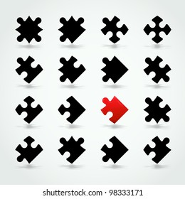 All Possible Shapes of Jigsaw Pieces