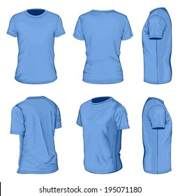 Blue T Shirt Photos 228 455 Blue Stock Image Results
