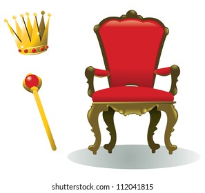all you need to be a king, in addition to a reign, of course - every object is singly grouped