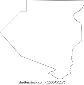 allegheny County map in Pennsylvania state