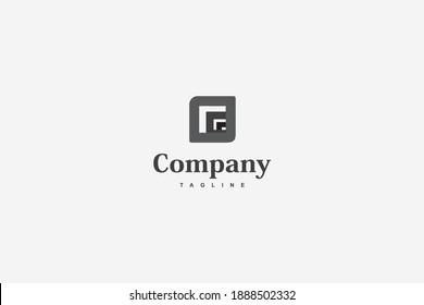 Alley Business Square Logo Company