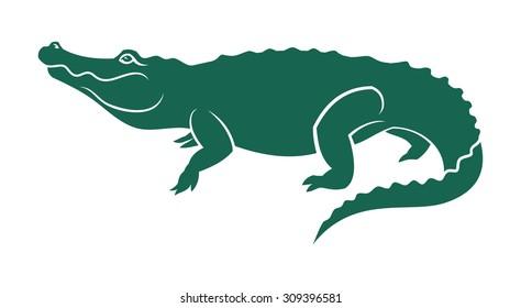 Alligator mascot.
