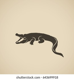 Alligator - vector illustration