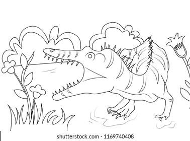 allosaurus dinosaur roaring to hunt more dinosaurs education learning