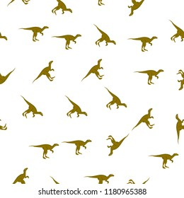 allosaurus icon in pattern style. One of Dinosaurus collection icon can be used for UI, UX on white background